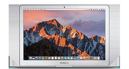13-tommers MacBookAir